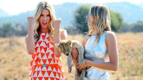 Jennifer Hawkins Latest Photo Shoot Location is South Africa's Safari